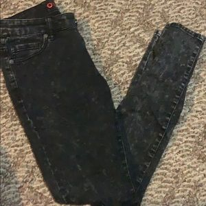 Olivia stonewashed Jean leggings